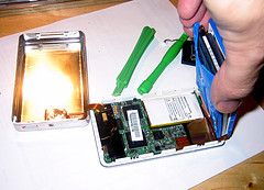 inside of the ipod